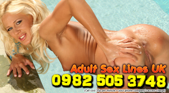 Blonde bombshell phone sex chat